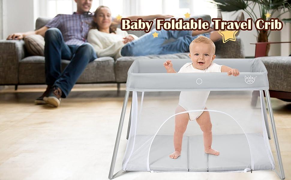 baby foldable travel crib