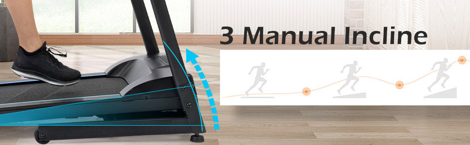3 manual incline