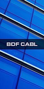 BDF CABL COLOR BLUE WINDOW FILM