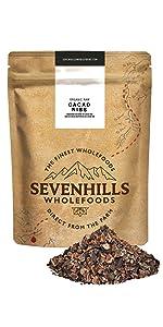 Sevenhills Wholefoods Puntas de Cacao Crudo Orgánico