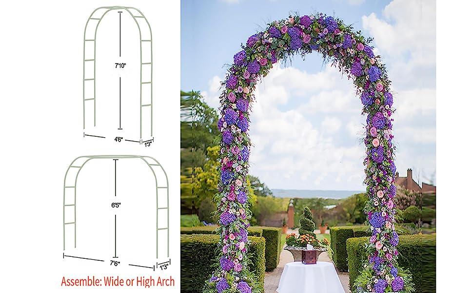 White Metal Arch