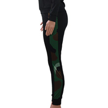 Camouflage Tapered Sweat Pant