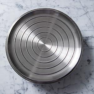 cuisinart saute pan stainless steel skillet 14 inch saute pan with lid stainless steel