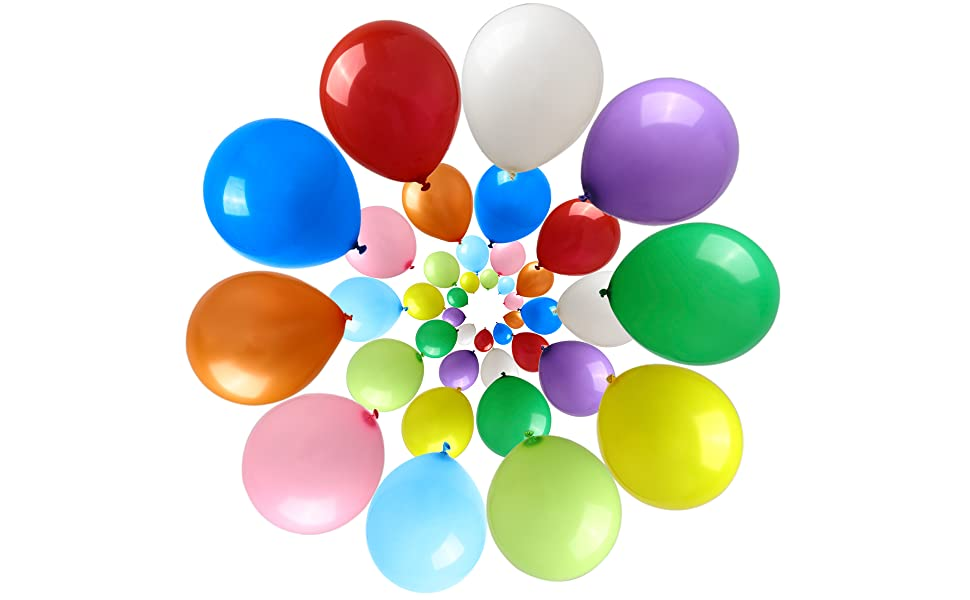 Colorful Balloons Choose what you want