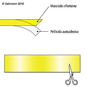 decalcomania riflettente per auto giallo decorazione adesiva da caccia alla pantera Adesivo per auto resistente allo scolorimento e anti-sole