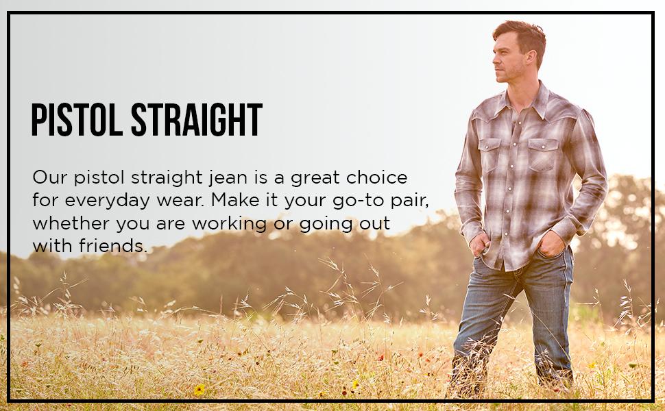 pistol straight jeans