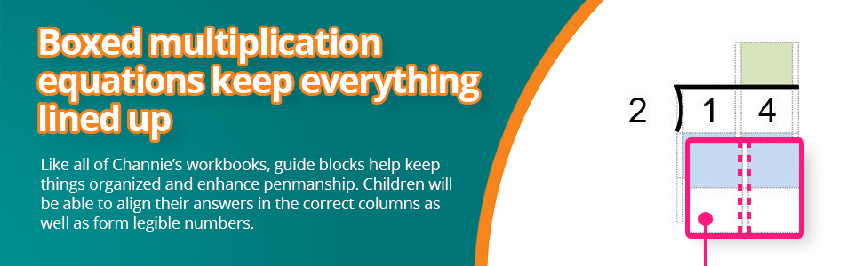 Children will be able to align their answers in the correct columns as well as form legible numbers