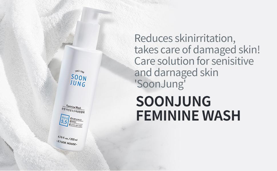 SoonJung Feminine Wash 200ml 1