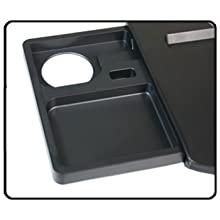 left size drawer with drink groove and phone