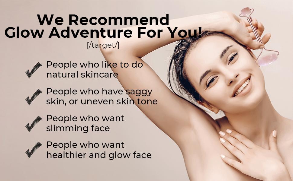 rose quartz roller recommend for skin care