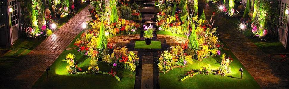led landscape lighting spotlight waterproof outdoor lights lawn garden 120V