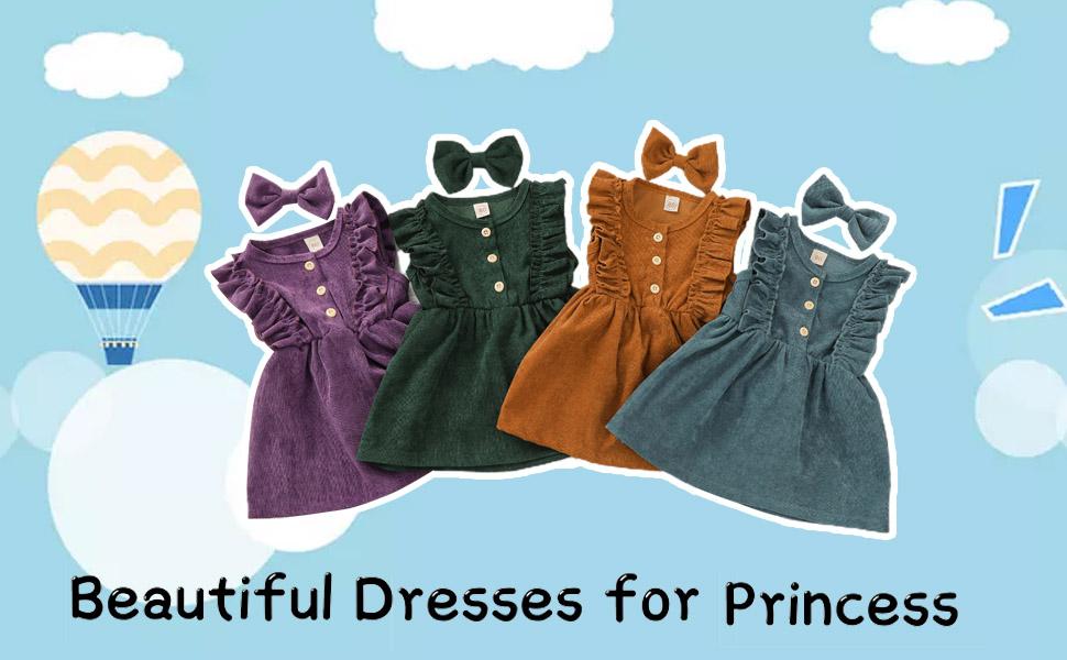 Toddler Kids Summer Clothes Dress