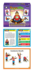 Yogarilla yoga cards for kids speech therapy