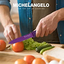 rainbow knife set