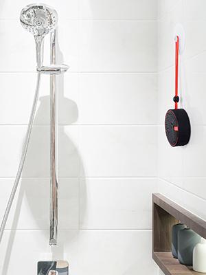 haut-parleur de douche