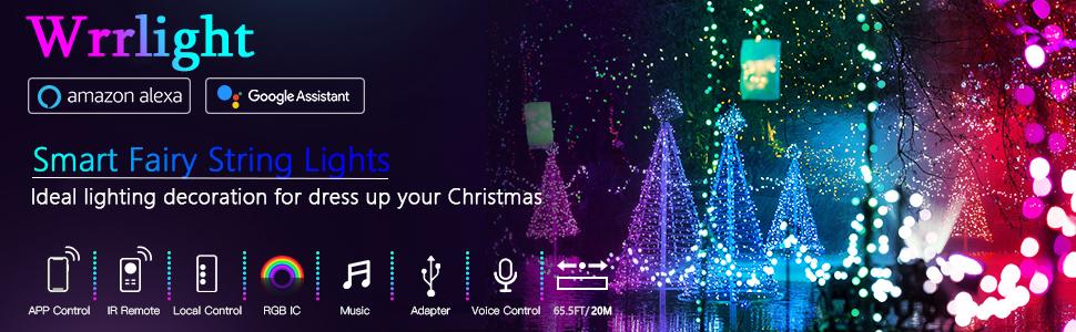smart fairy string lights