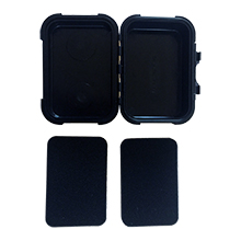 MiniMag Plus Magnetic Stash Box With Removable Protective Foam Inserts