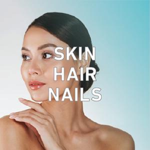 Senzu Collagen Peptides Powder Skin Hair Nails Grow ongles de cheveux de peau