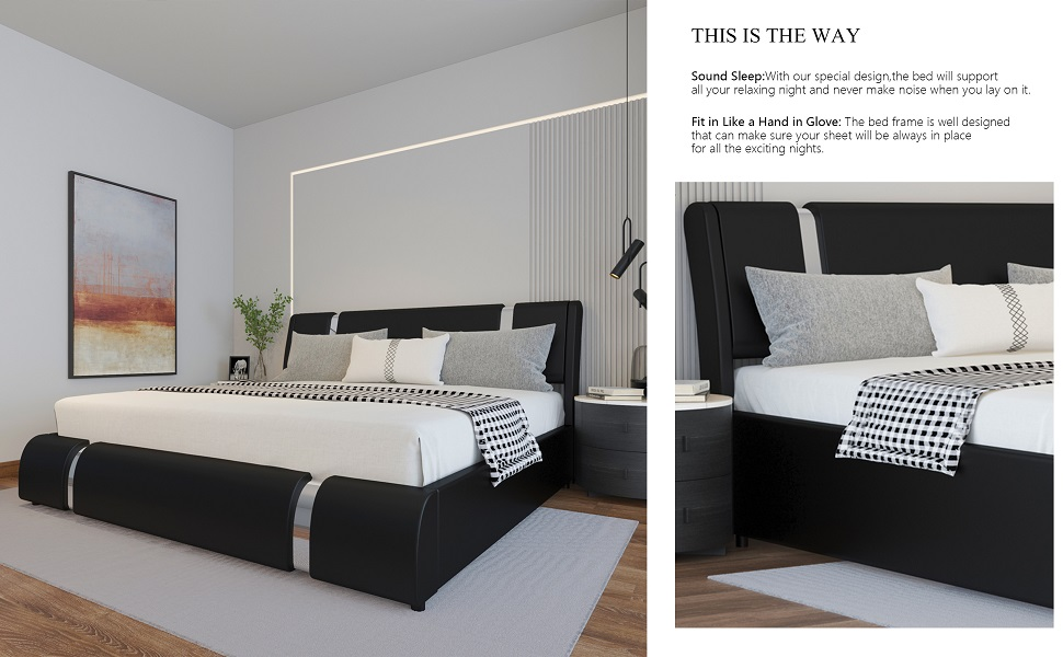 THIS IS THE WAY YOU CHOOSE THIS BED