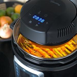 Mealthy, CrispLid, MultiPot, Air Fryer, Instant Pot