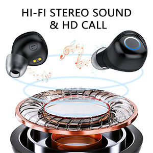 HIFI sound deep bass wireless earbud