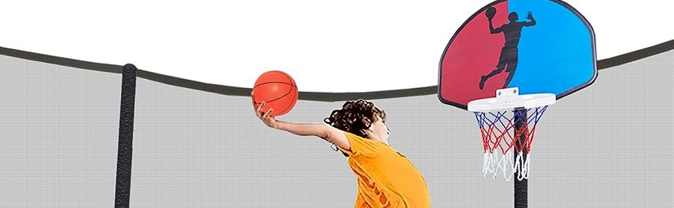 basketball trampoline