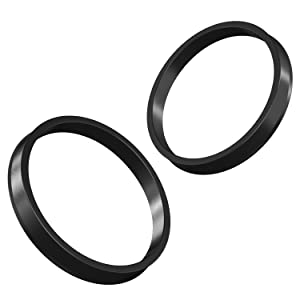 | Hubcentric Center Ring 66.1mm to 74MM for many Nissan /& Infiniti Hub to 66.1mm Wheel 4pc Black Polycarbon Hubrings 74mm