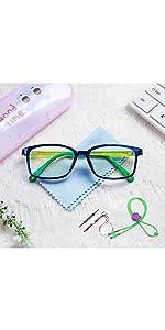 blue blocker glasses for teens kids