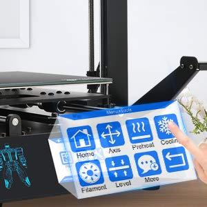 ANYCUBIC Mega S Impresora 3D Tamaño de impresión 210 x 210 x 205 ...
