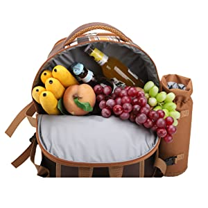 large cooler compartment