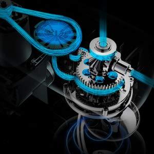 1000W powerful, low noise motor