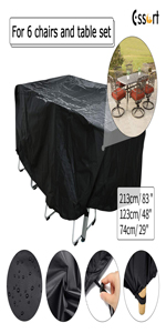 Patio Furniture Cover extra large patio furniture cover table chair cover table tennis cover bbq