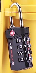 4 digit combination tsa locks, tsa approved lugage lock, travel lock, pelican case lock