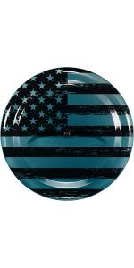 Boomerang American Flag Tire Cover