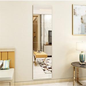 Cuisine Entr/ée et Salon Muzilife Miroirs Muraux en Verre 4 Pi/èces 30x30cm HD Miroirs Carr/és sans Cadre pour Salle de Bain