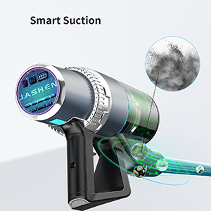 Smart Suction with Dust Sensor