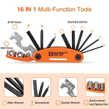 16 in 1 Multi-Function Tools Kit