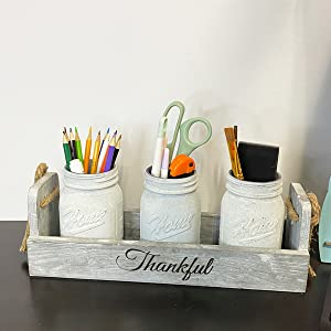 country centerpiece for coffee table farmhouse island centerpiecerustic box for mason jars