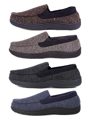 longbay moccasin slippers
