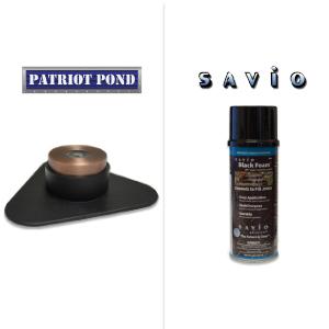 LED light landscape pond bronze foam waterfall PVC Glue EPDM pond installation Kit