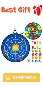 dart board for kids game toy Christmas stocking stuffers