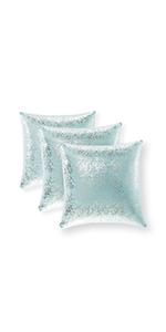 baby blue solid pillows dark blue throw pillow set light blue euro pillows euro pillow covers blue