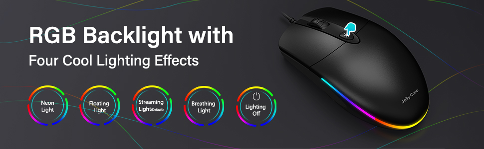 RGB Backlight Mouse