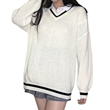 Womens White Pullover Tops