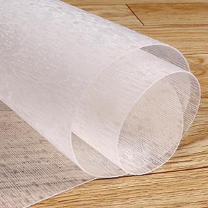 rolled desk chair mat