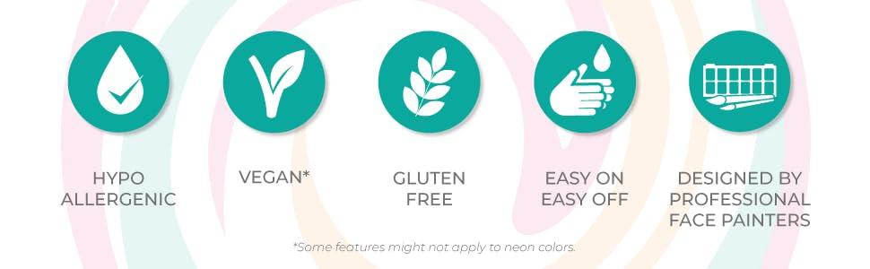 hypoallergenic vegan gluten free easy on easy off