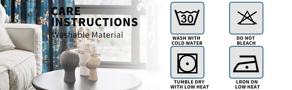 Washing note