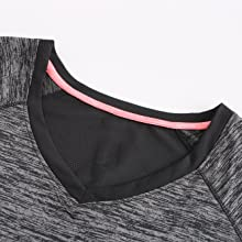 ladies tops womens hiking v neck top plus size activewear tshirts top cool quick dry fit t shirt