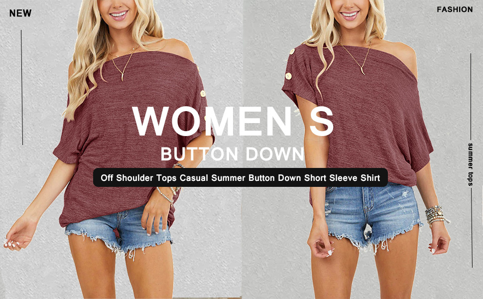 summer tops for women sexy t shirts for women short sleeve blouses for women button down shirt
