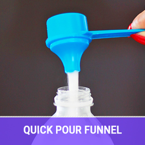 shaker bottle multi pack protein powder funnel measuring scoop supplements workout plastic storage